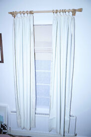 John Lewis Pencil Pleat Black Out Curtain Linings