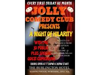 Jolly comedy Hosts a Night of Hilarity