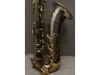 King Super 20 Silver Sonic tenor saxophone, Near mint!