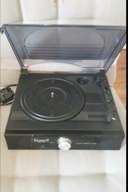 Steepletone 3 speed vinyl record player