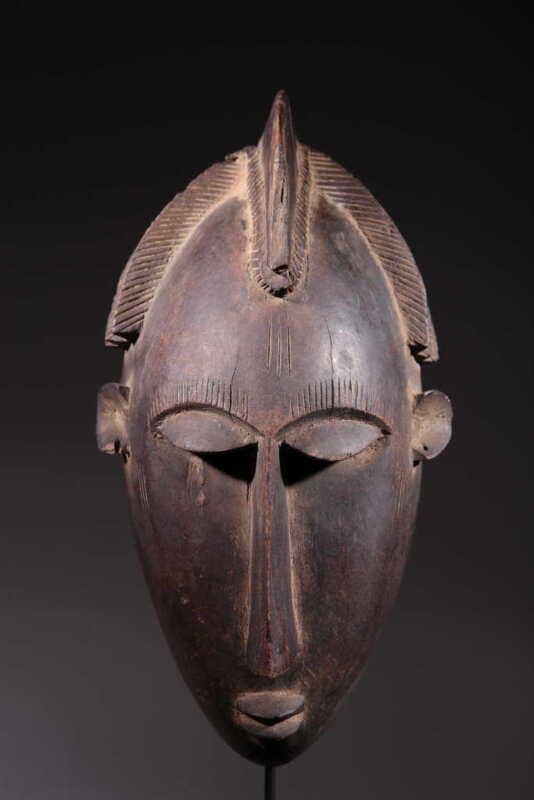 Mask African Mask Bambara 352