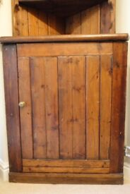 Antique Pine Full Height Corner Unit