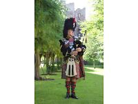 Piper / Bagpiper for hire for all Occasions