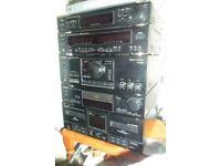 technics seperates stereo system
