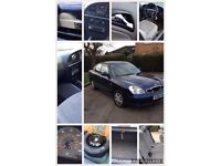 Daewoo nubira 1.6 low miles one owner from new, garaged its whole life NO MOT