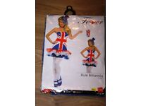 I HAVE 7 UNION JACK FANCY DRESS OUTFITS FOR SALE - FUN FOR CHRISTMAS