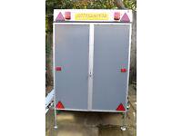 Box trailer car camping trailer