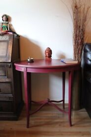 Large Vintage Side Table / Console Table