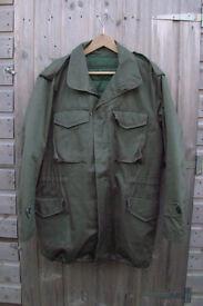 Greek Army M51/M64 Field Combat Jacket (Genuine Issue) Super Grade LARGE + Liner