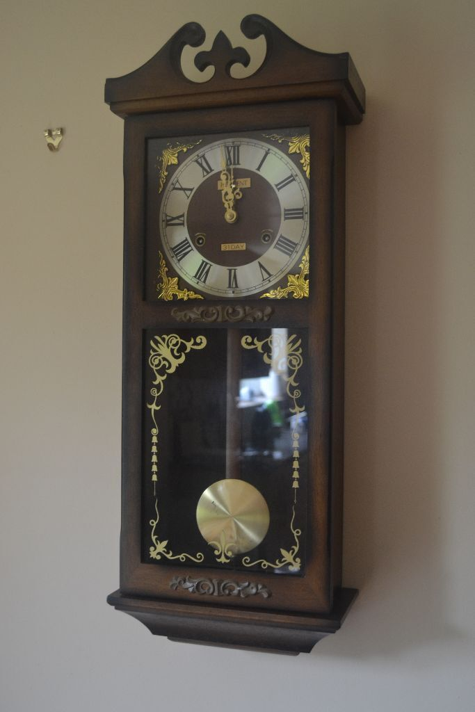 Large Wall Clock With Mirror