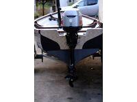 6 horsepower mariner outboard engine
