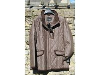 Wax Jacket. High quality Danish Dry Waxed Jacket Colour Dark Mink Size 38 (12)