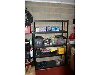 """Costco - Whalen 5 Tier 48"""" (121cm) Step Beam Heavy Duty Storage Shelf Rack"""