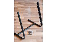 "QUIKLOK RS-10 10U studio rack stand for 19"" rack equiment, excellent condition."