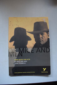 GCSE English York Revision notes Of Mice and Men