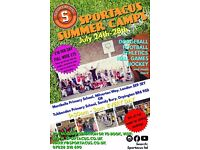 Sportacus Multisport Summer Camp At Tubbenden Primary School
