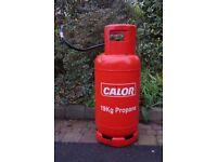 Gas Cylinder Propane 19kg Gas Half full £30