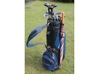 Ladies Golf Clubs - Full Set of 9 Irons, 3 Woods, Putter plus Golf Bag