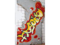 Custom Built Grafitti Wall Prop - Shop, Photography Studio, Showroom or Retail Business