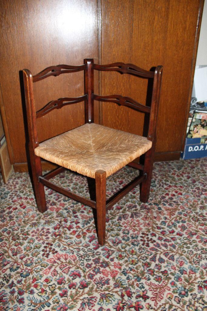 Antique corner chair - Antique Corner Chair In Esher, Surrey Gumtree