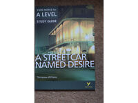 "A level study guide for "" A Streetcar Named Desire"""