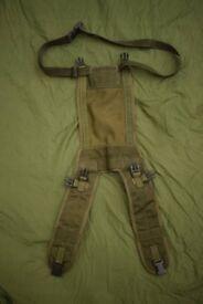 Vintage PLCE Bergen Side Pouch Yoke / Harness