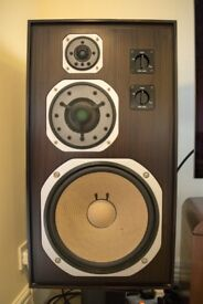 Yamaha NS-1000 SPEAKERS in Ebony in Very Good Condition