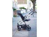 Mamas & Papas Pushcahir Pram Reversible Baby Stroller & Bassinet