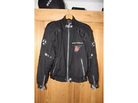Motorcycle Jacket - Hein Gericke Pro Sports in Black with soft armour - Size XL