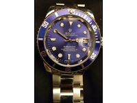 Blue/purple face Rolex Submariner