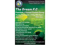 The Dream F.C Football & Futsal Fusion Half Term Camp 22nd August - 26th August
