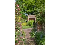 Allotment rental - £20 per month in the Kitchen Walled garden of the Ismere Estate, Worcestershire