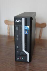Acer Veriton X275 Core 2 Duo Base Unit, 2GB Ram, 160GB HDD, Windows 7 Pro