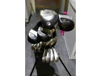 Calloway Big Bertha cavity back Golf club set Irons Driver Woods Stand Bag many extras easiest clubs