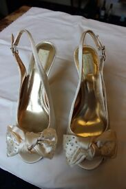 Ladies NEXT Occasion branded wedding style shoe - size 6 1/2 (40)