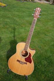 Crafter GAE6/N Grand Auditorium Acoustic Guitar
