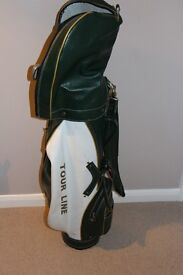 Full set of golf clubs and bag - ideal for beginner