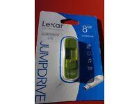 USB Flash Drive Lexar 8gb (New)