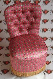 Bespoke vintage Queen Chair