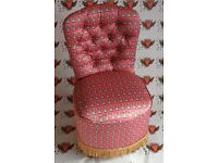 Bespoke vintage Queen Chair