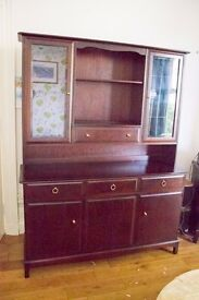MAHOGANY WOOD SIDE BOARD UNIT
