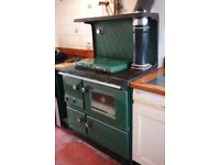 Oil fired Stanley range -ch boiler and cooker.