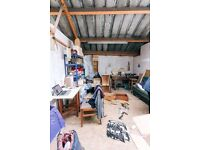 Workshop/Studio Space   Suitable for Noisy/Messy Projects   Monthly Rolling Contract   Studio 1