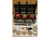 3 x Photon Beard Professional Lighting Kit 800W