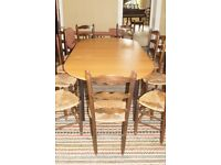 Oval boardroom/workspace table