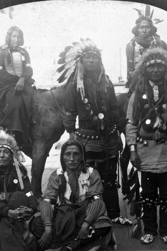 """New 5x7 Native American Photo: Indians from the """"Wild West"""" at World"""
