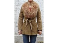 Authentic sheep skin jacket