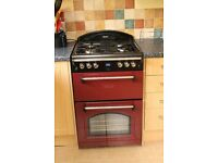Red rangestyle Leisure double oven cooker (GRB6GV )