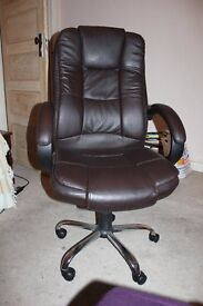Office chair- brown