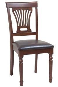 Four Sturdy Dining Chair In Espresso